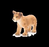Dřevěné hračky Mojo Animal Planet Lví mládě stojící