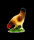 Mojo Animal Planet Slepice krmící se