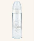 NUK First Choice Plus skleněná lahev 240ml New Classic bílá