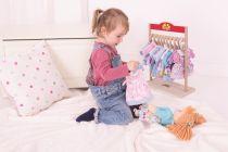 Dřevěné hračky Bigjigs Toys Látková panenka Amelia 38 cm