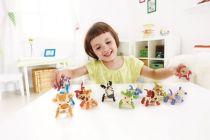 Dřevěné hračky Hape Dřevěná zvířátka nosorožec