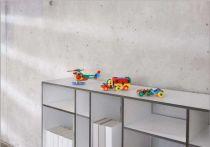 Dřevěné hračky Mic-o-mic - Stavebnice - Velký dvouplošník