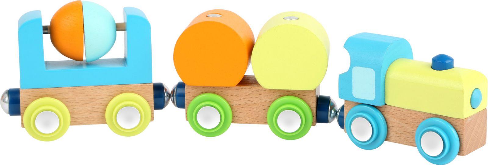 Dřevěné hračky Small Foot Dřevěný vláček Junior Small foot by Legler