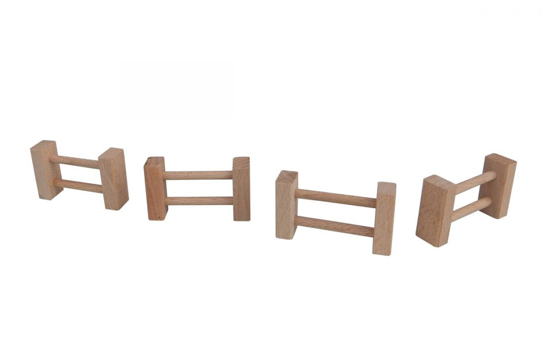 Dřevěné hračky Dřevěná ohrada malá k domečkům Archa Archa program