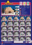 Dřevěné hračky Dřevěná stavebnice Archa 1 Archa program