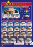 Dřevěné hračky Dřevěná stavebnice Archa Alpen 2 Archa program