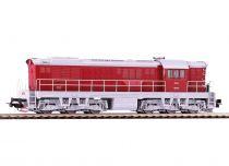 Piko Dieselová lokomotiva T669 ČSD IV červená - 59786