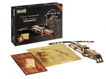 Dřevěné hračky Dřevěná stavebnice Leonardo da Vinci Giant Crossbow - Obří samostříl Revell