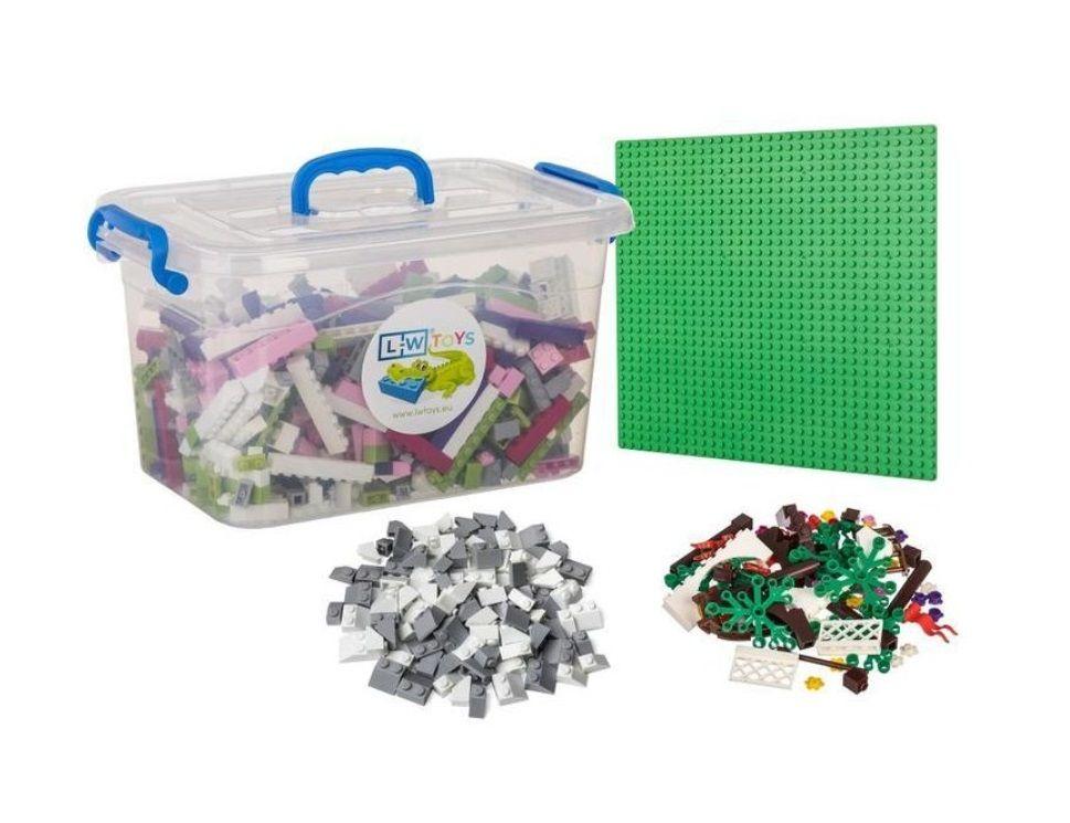 Dřevěné hračky L-W Toys Dívčí království malé