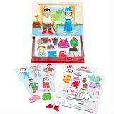 Bigjigs Toys Magnetické oblékací puzzle Šaty