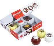 Santoys dřevěné potraviny - Čokoládové bonbóny