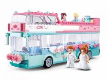 Sluban Girls Dream M38-B0769 Svatební autobus