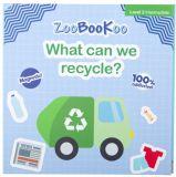 Zoobookoo Magnetická kniha Co můžeme recyklovat?