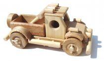 Dřevěné hračky Dřevěné auto Off road Ceeda Cavity