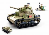 Sluban Army M38-B0711 Střední italský tank 2v1
