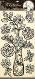 Small Foot Samolepky květiny