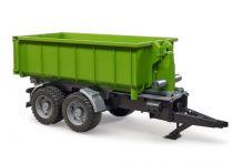 Bruder Zelený vůz se sklápěcím kontejnerem měřítko: 1:16