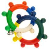 Hess Chrastítko dva kroužky barevné