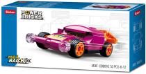Sluban Power Bricks M38-B0801G Natahovací auto Fialové
