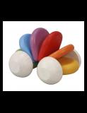 PlanToys Autíčko pro nejmenší barevné