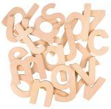 Dřevěné hračky Bigjigs Toys Dřevěná abeceda malá písmena