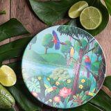 Tommy Lise Bambusový talíř Bird Paradise 1 ks