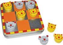 Small Foot Magnetické piškvorky Kočka a myš