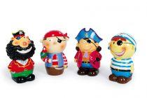 Dřevěné hračky Keramická pokladnička - Pirátský gang 4 Small foot by Legler