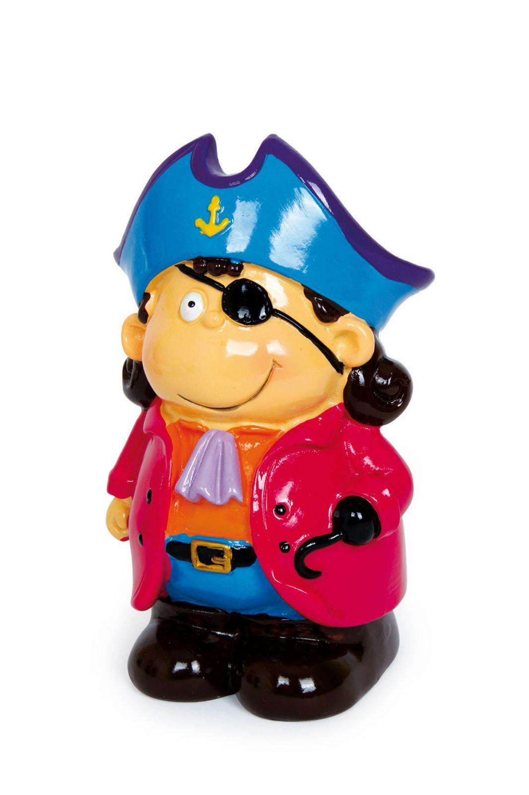 Dřevěné hračky Keramická pokladnička - Pirátský gang 1 Small foot by Legler