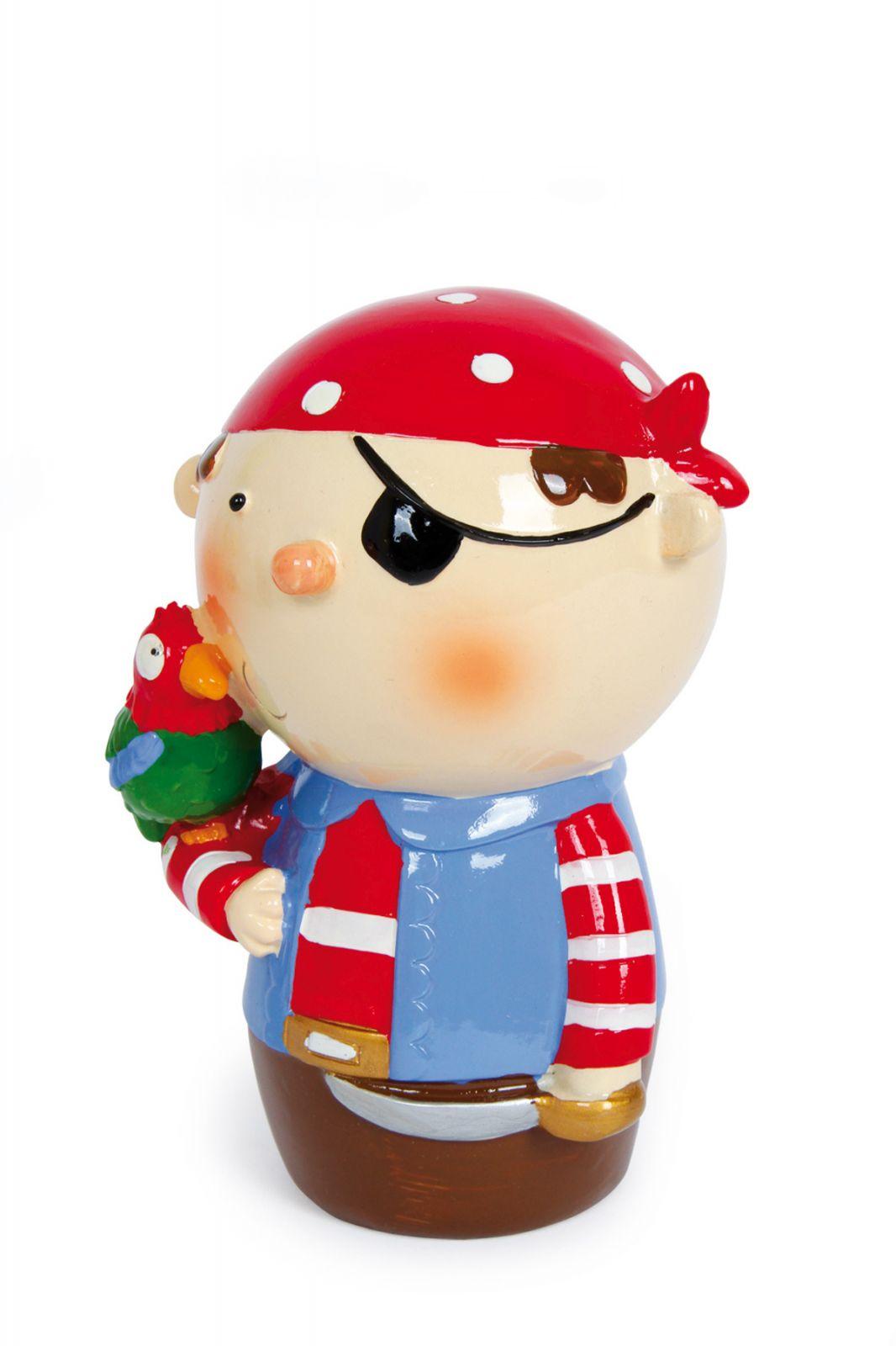 Dřevěné hračky Keramická pokladnička - Pirátský gang 2 Small foot by Legler