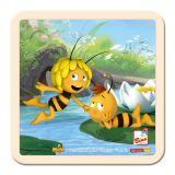 Dřevěné hračky -  Dětské puzzle - Včelka Mája