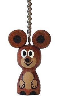 Dřevěné hračky Detoa Klíčenka mini Myška