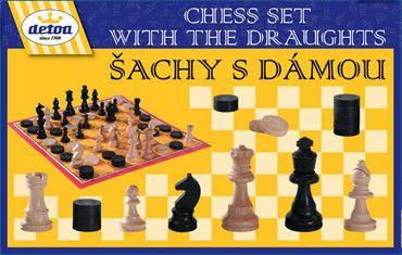 Dřevěné hračky Detoa Šachy s dámou