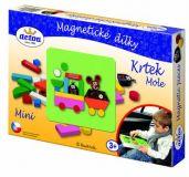 Dřevěné hračky Detoa Magnetické dílky Krtek MINI