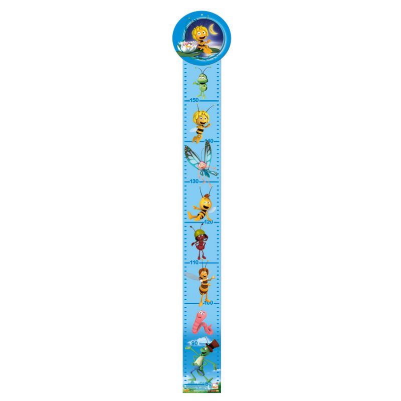 Dřevěné hračky Bino Metr včelka Mája modrý