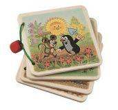 Dřevěné hračky - Obrázkové album Krtek na zahradě