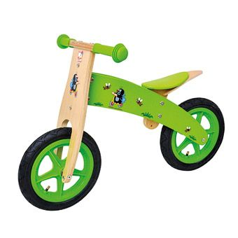 Dřevěné hračky Bino Odrážedlo Krtek