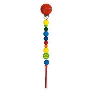 Dřevěné hračky Detoa Baby klips červený
