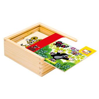 Dřevěné hračky Dřevěné hračky - První skládanka - Krtek 2 Bino