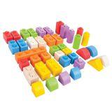 Bigjigs Toys dřevěné Spojkostky - Střední set
