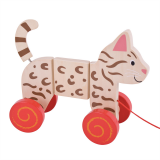 Bigjigs Baby Tahací kočka