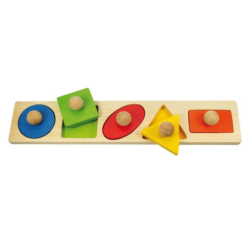 Dřevěné hračky Bigjigs Baby Vkládací puzzle tvary Bigjigs Toys