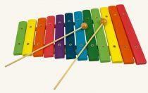 Dřevěné hračky Bino Xylofon 12 tónů