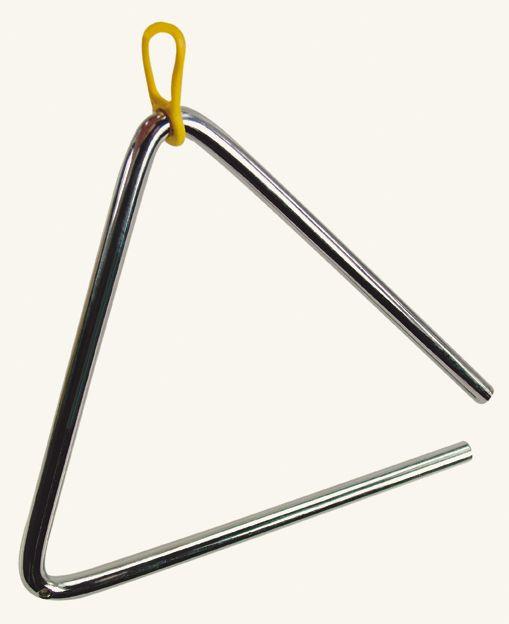 Dřevěné hračky Bino Dětské hudební nástroje Triangl 6