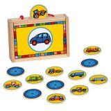 Dřevěné hračky - dřevěné hry - Pexeso doprava