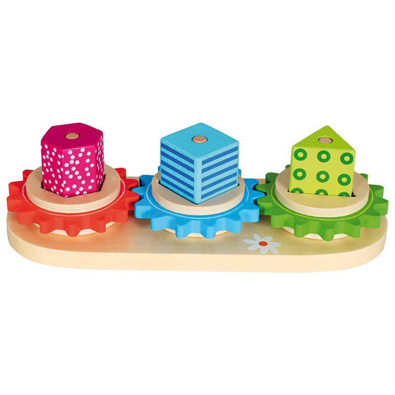 Dřevěné hračky Dřevěné hračky - Poznej tvary, Trio Bino