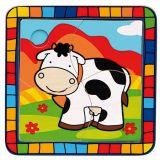 Dřevěné hračky -  Vkládací puzzle kráva