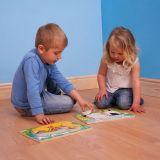 Dřevěné hračky Bigjigs Baby Dřevěné vkládací puzzle kachny Bigjigs Toys