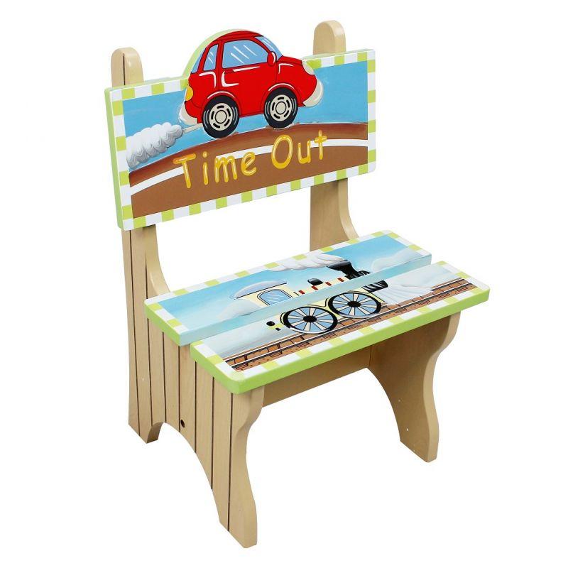 Dřevěné hračky Fantasy Fields - Dopravní prostředky - Lavička