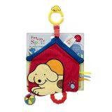 Rainbow Závěsná plyšová psí boudička